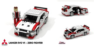 Mitsubishi Lancer EVO VI - Zero Fighter Edition