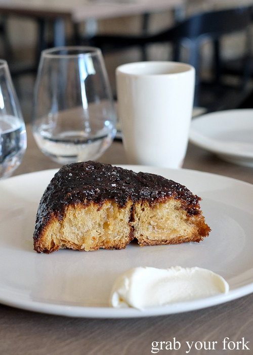 Julie's kouign amman at Saint Peter by Chef Josh Niland in Paddington Sydney