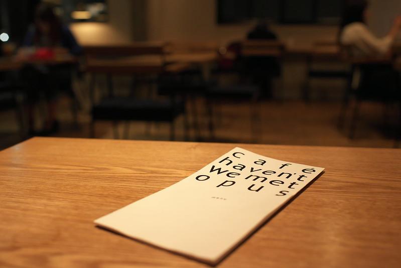 カフェハヴントウィーメットオーパス/cafe haven't we met opus 仙台美味しいもの巡りの旅 2016年9月17日~18日