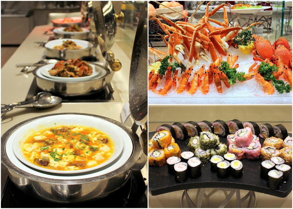 Four Points: Seafood Buffet Spread