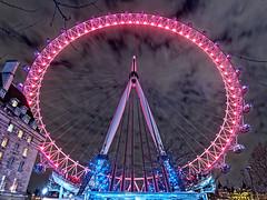 Колесо обозрения «Око Лондона». London eye