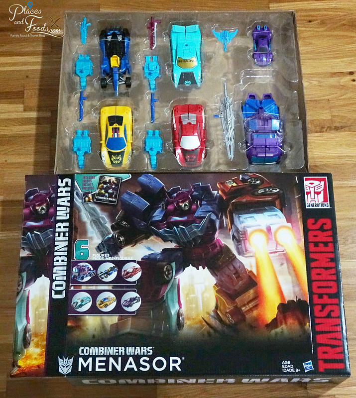 TRANSFORMERS Combiner Wars Menasor set