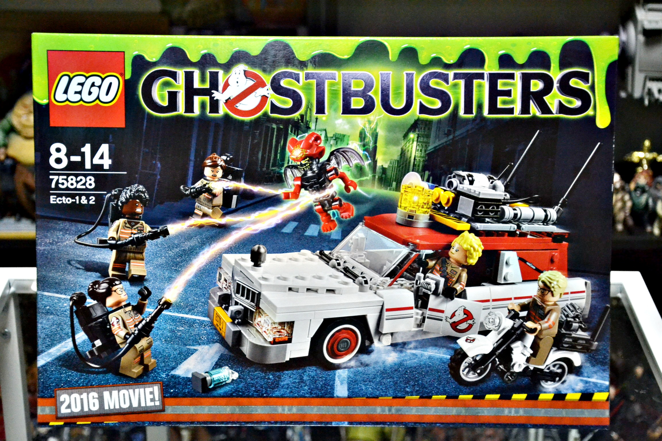 LEGO Ghostbusters Ecto-1 & Ecto-2 - 2016 Movie
