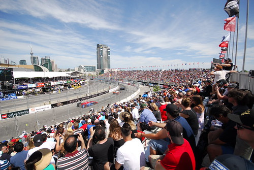 Honda Indy Toronto - view from the grandstand
