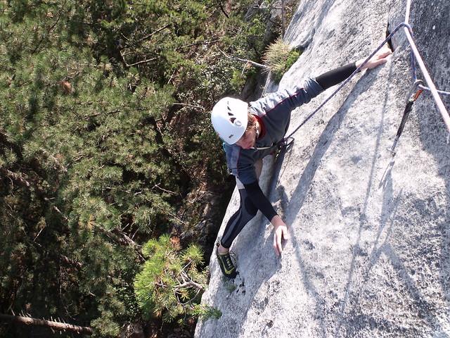 Hohe Wand Steinbockalarm 245 m (7-)