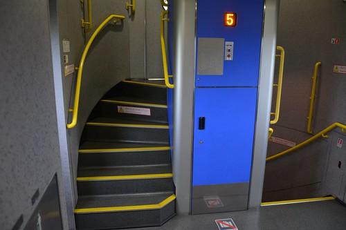 E4系:車内玄関