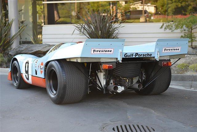 Фото Порше 917K 1969 года выпуска