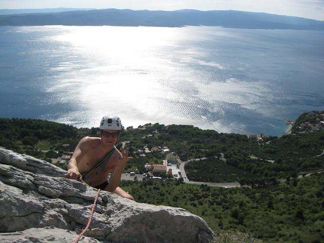 Brela Capitan Pampirula 90 m (6a)