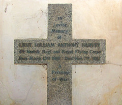 Lieut William Anthony Harvey of Norfolk Regt and Royal Flying Corps, a Prisoner of War