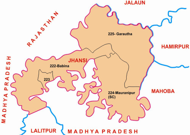 Jhansi district Uttar Pradesh Election 2017