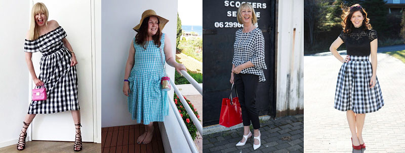 Fashion bloggers in gingham #iwillwearwhatilike