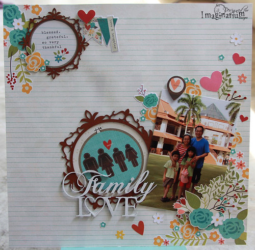 """Family Love"" Layout"