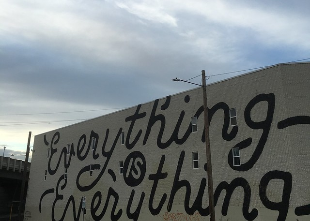 Everything is Everything mural Portland, Oregon
