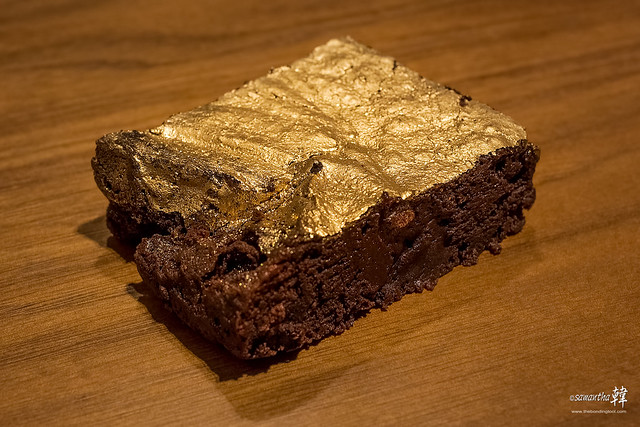 20161005 Chalk Farm 24 Karat Edible Gold Dust Brownie 0601