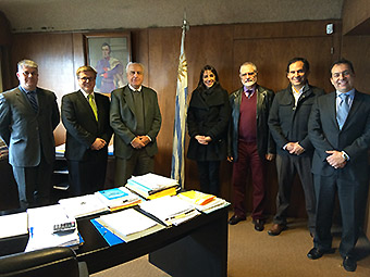 Reunion Sky ministros Uruguay (Sky)