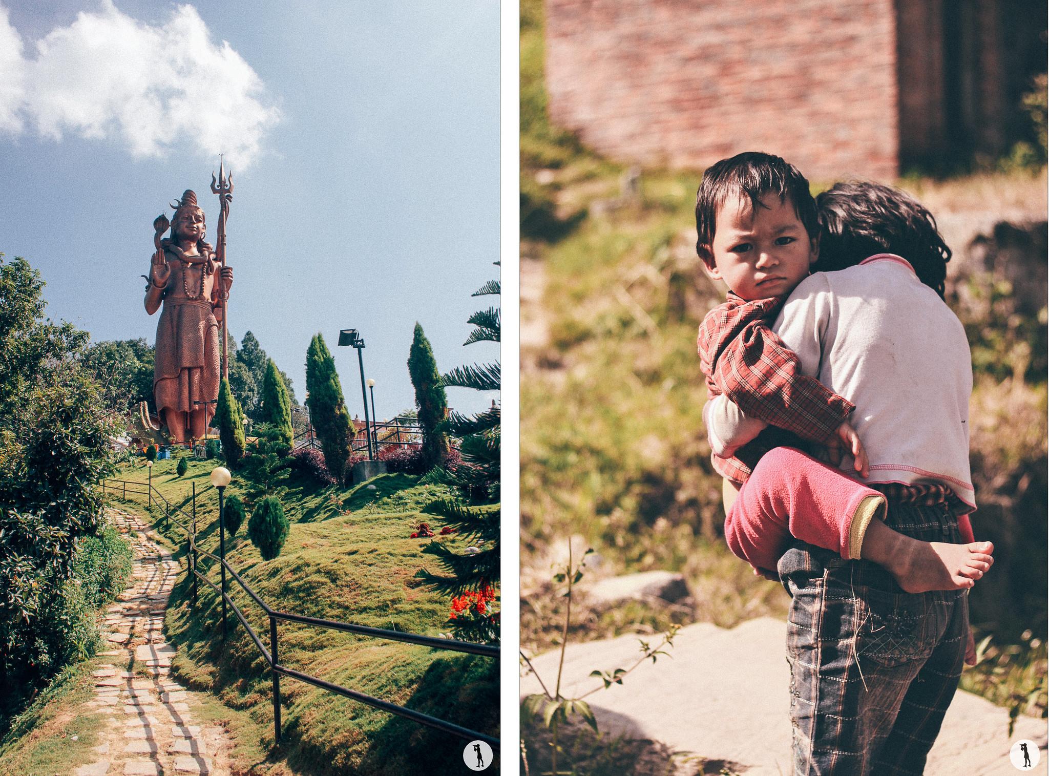 Shiva temple, Nepal