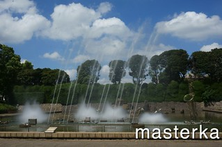 北浦和公園の音楽噴水3
