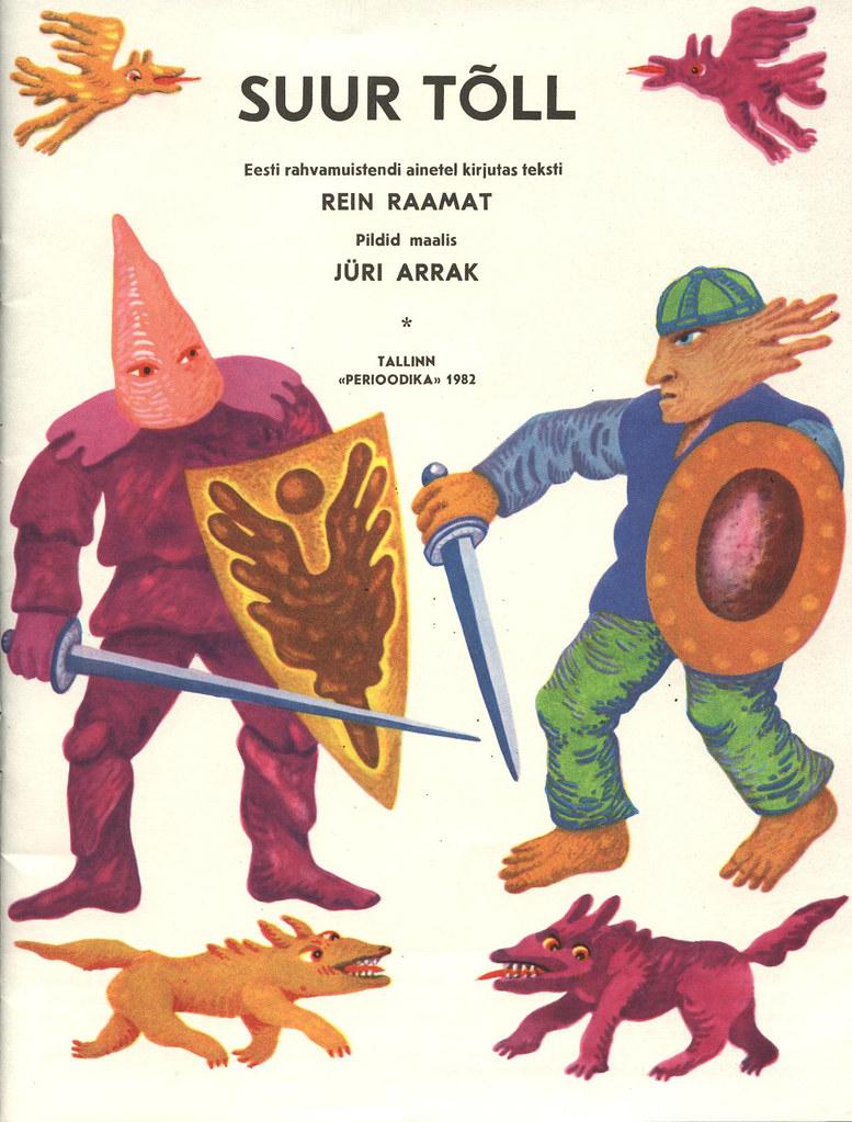 Tõll the Great - Page 02 - Written by Rein Raamat, Illustrated by Jüri Arrak, 1982