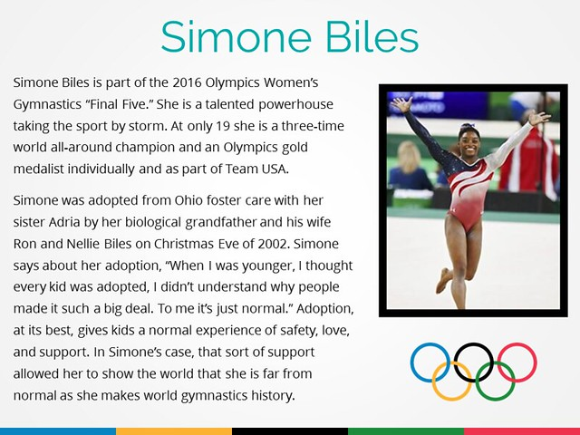 Famous Adopted Olympians