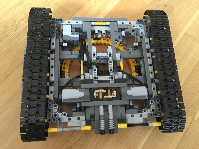lego 42055 schaufelradbagger mods und verbesserungen doctor brick. Black Bedroom Furniture Sets. Home Design Ideas