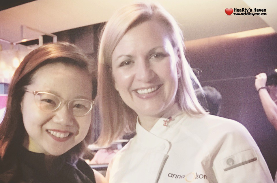 Chef Anna Olson with Roch