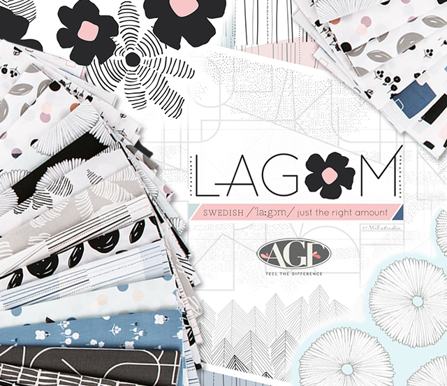 Art Gallery Fabrics Lagom Collection by AGF Studio