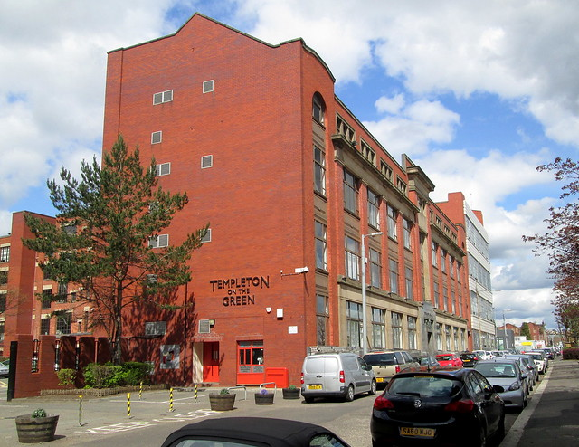 Templeton Carpet Factory, Glasgow, Northeast section