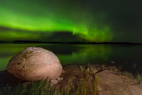 Frog Rock Aurora