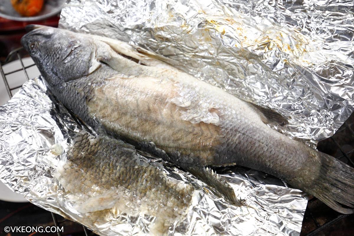 Mangkorn Seafood Baked Seabass