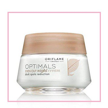 Best dark spot removal cream for face - Oriflame Optimal EVEN OUT Night Cream