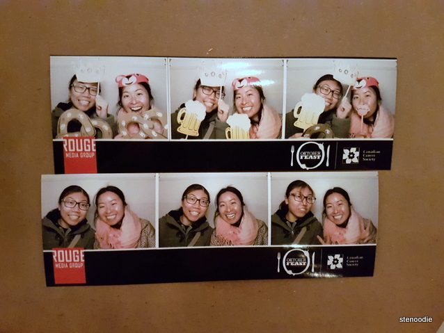 Rouge Media Group photobooth shots
