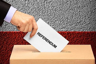 Noicattaro. Referendum front