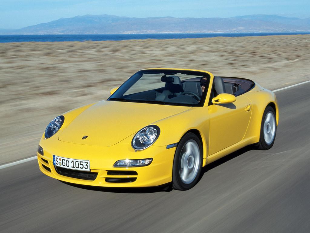 Porsche 911 Carrera Cabriolet (кузов 997). 2005 – 2008 годы