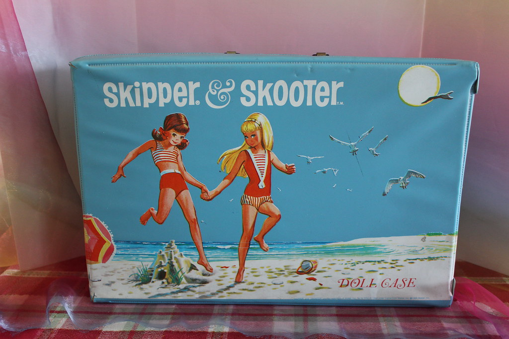 Skipper/Skooter Doll Case (1965)