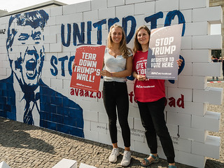 Berlin United against Trump