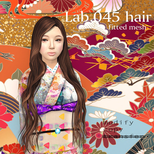 booN Lab.045 hair