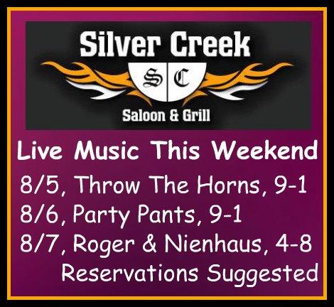 Silver Creek Poster 8-5-16