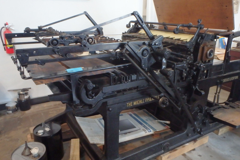 Miehle Press machine