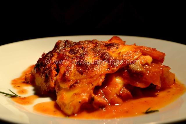 Lasagne aux Pommes de Terre au Chorizo © Ana Luthi Tous droits réservés 030