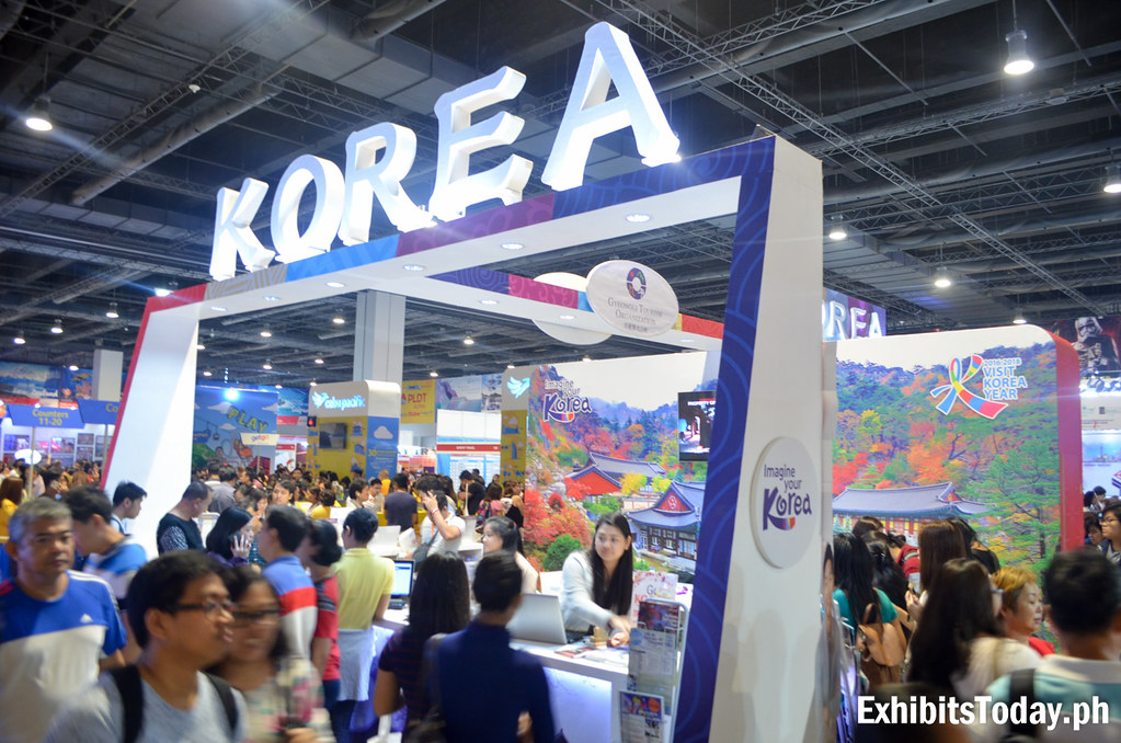 Korea Tourism Organization Trade Show Display (front)