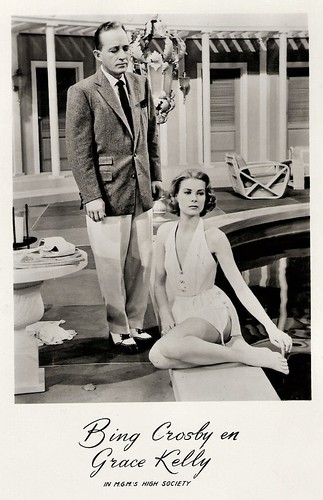 Bing Crosby and Grace Kelly in High Society