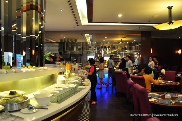 Breakfast Buffet at Checker's Cafe Dorsett Kuala Lumpur