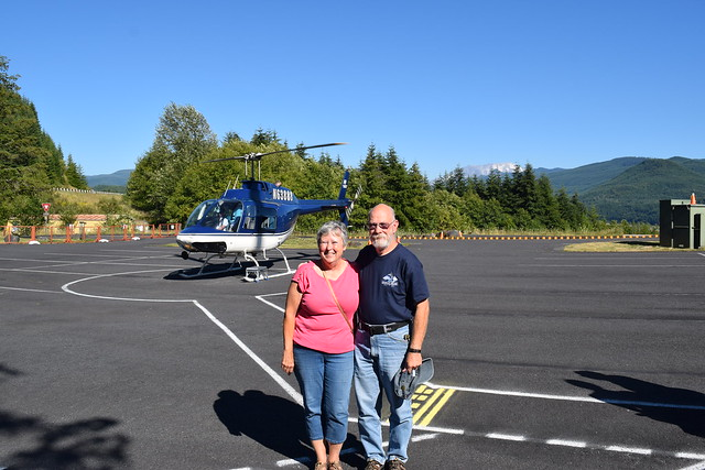 Mount Saint Helens Helicopter Ride
