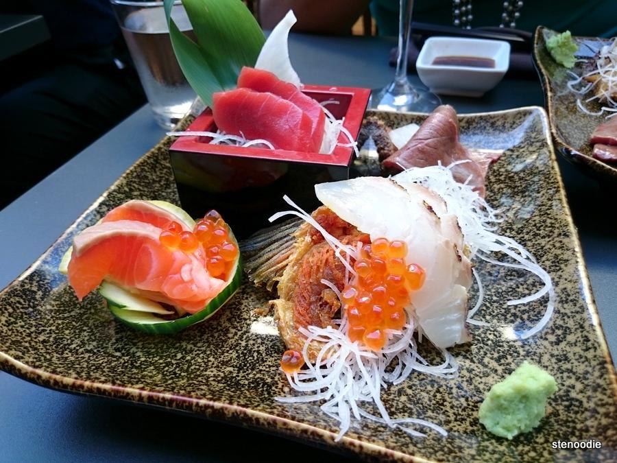 JaBistro sashimi sampler
