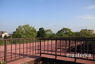 福岡城の展望台