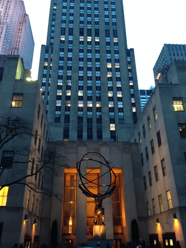 Rockefeller Center, NYC. Nueva York