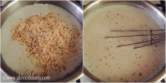 Bajra Badam Drink Recipe for Toddlers and Kids