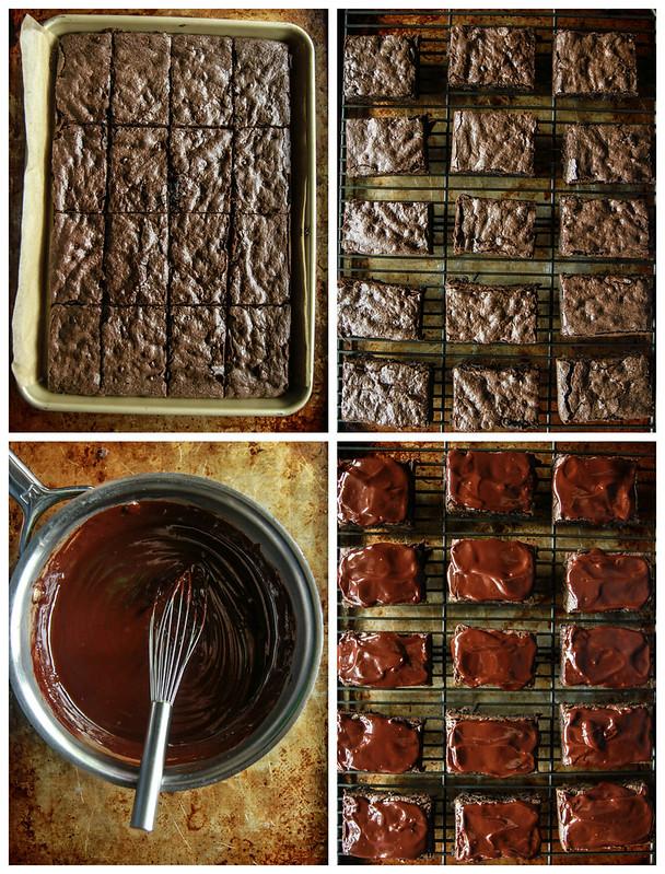 Gluten Free Vegan Chocolate Fudge Pumpkin Brownies