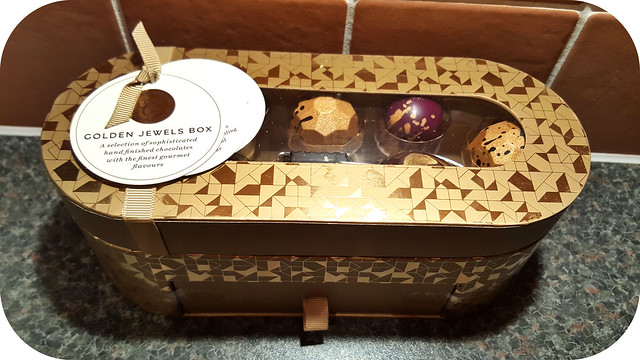 M&S Golden Jewels Box
