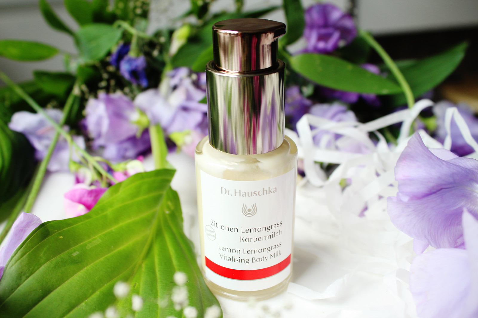 Dr Hauschka lemon-lemongrass body milk